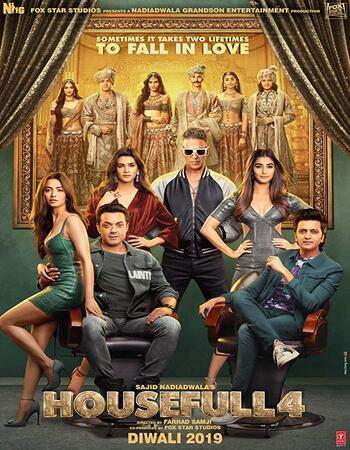 Housefull 4 2019 720p Pre-DVDRip Full Hindi Movie Download