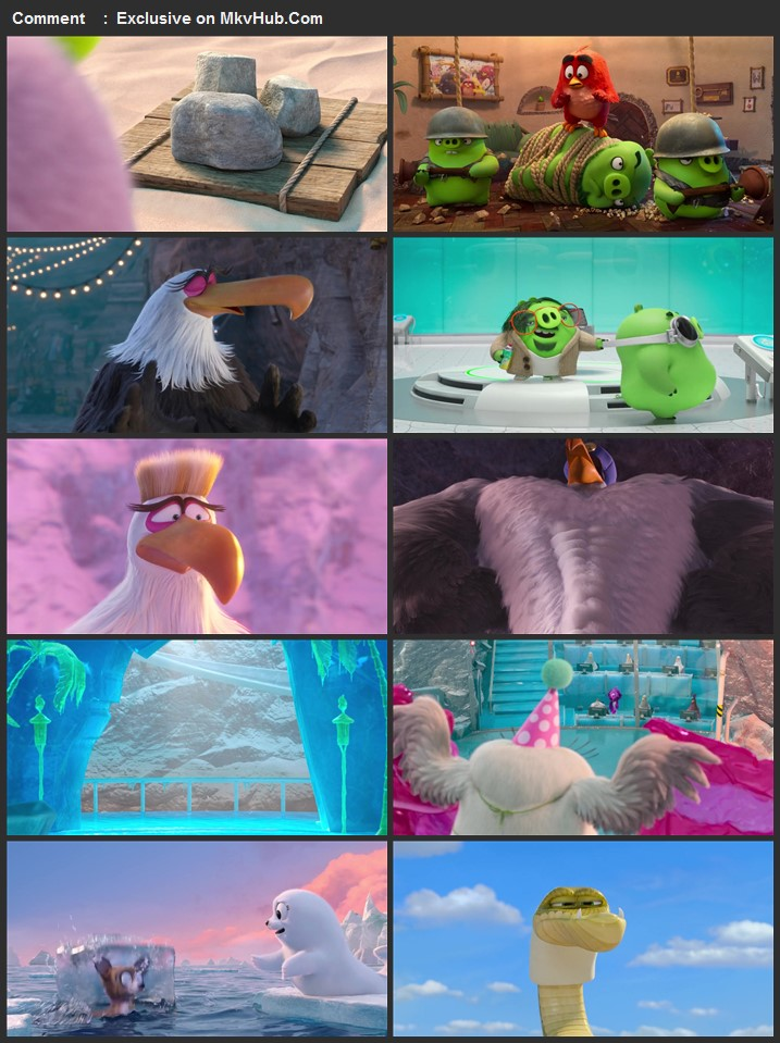 The Angry Birds Movie 2 2019 720p BluRay Dual Audio In Hindi English