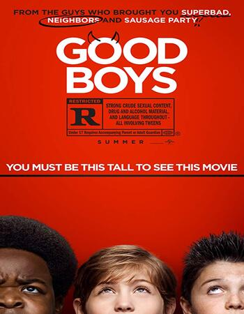 Good Boys 2019 720p WEB-DL Full English Movie Download