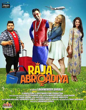 Raja Abroadiya (2019) Hindi 720p HDTV x264 850MB Movie Download
