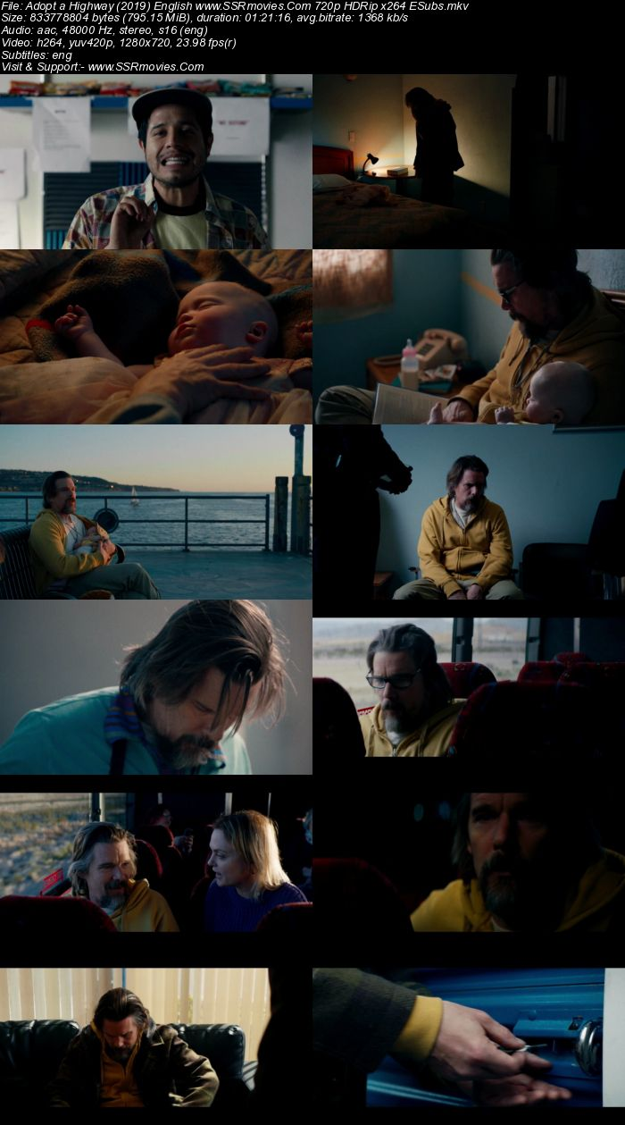 Adopt a Highway (2019) English 480p WEB-DL x264 250MB ESubs Movie Download