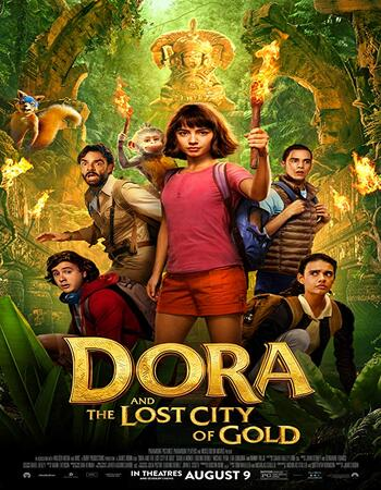 Dora and the Lost City of Gold 2019 English 480p WEB-DL 350MB With Subtitle