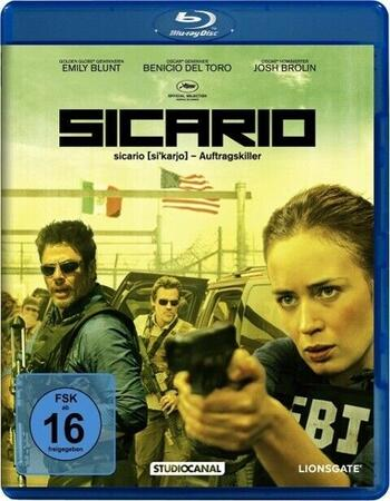 Sicario 2015 720p BluRay ORG Dual Audio In Hindi English