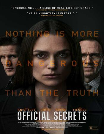 Official Secrets (2019) English 720p WEB-DL x264 900MB ESubs Movie Download