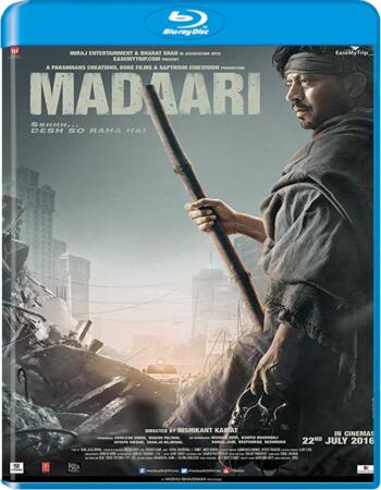 Madaari (2016) Hindi Movie 480p BluRay x264 400MB