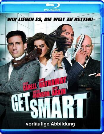 Get Smart (2008) Dual Audio Hindi 480p BluRay x264 350MB
