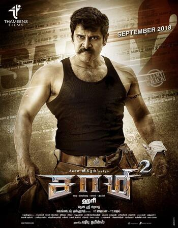 Saamy 2 2018 720p WEB-DL Dual Audio in Hindi Tamil