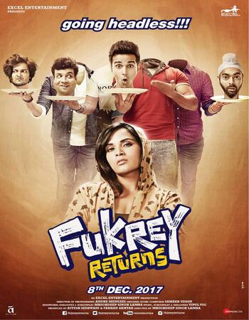 Fukrey Returns (2017) Hindi 480p WEB-DL x264 400MB