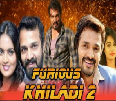 Furious Khiladi 2 (2019) Hindi Dubbed 720p HDTV x264 1GB Movie Download