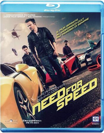 Need for Speed (2014) Dual Audio Hindi 480p BluRay 400MB ESubs