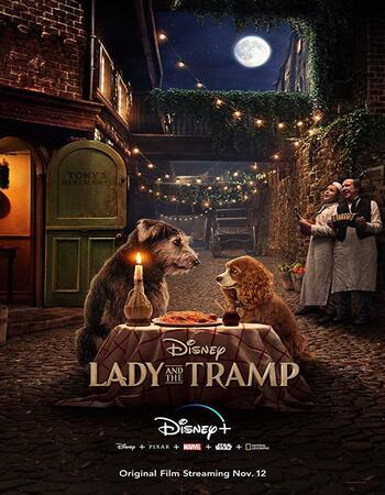 Lady and the Tramp 2019 English 480p WEB-DL x264 300MB ESubs