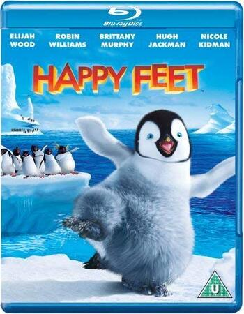 Happy Feet (2006) Dual Audio Hindi 480p BluRay x264 300MB
