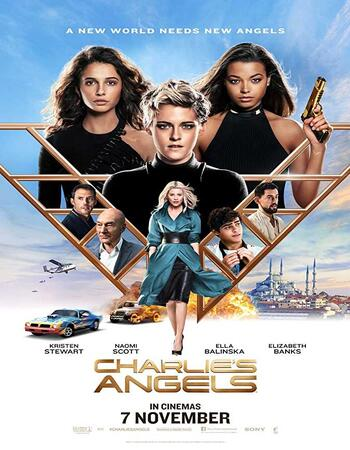 Charlie's Angels (2019) Dual Audio Hindi 720p HDCAM x264 1GB Movie Download
