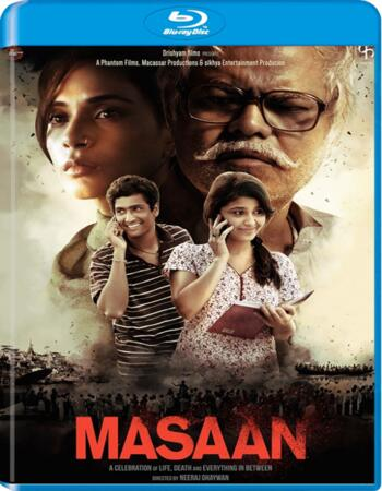 Masaan (2015) Hindi Movie 720p BluRay x264 850MB ESubs