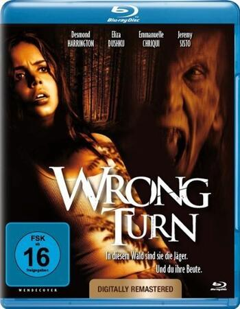 Wrong Turn (2003) Dual Audio Hindi 480p BluRay x264 250MB