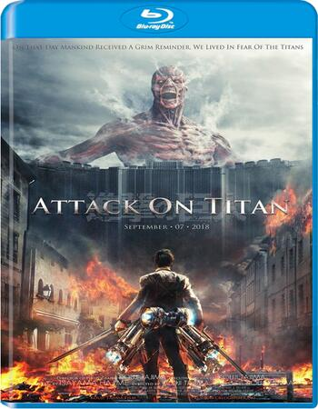Attack On Titan 2015 720p BluRay ORG Dual Audio In Hindi Japanese