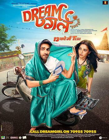 Dream Girl (2019) Hindi 720p WEB-DL x264 1GB Movie Download