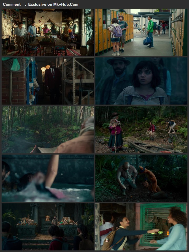 Dora and the Lost City of Gold 2019 720p BluRay ORG Dual Audio In Hindi English