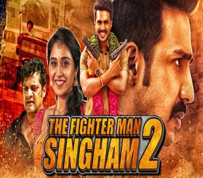 The Fighter Man Singham 2 (2019) Hindi Dubbed 720p HDRip 950MB Movie Download
