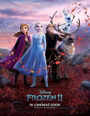 Frozen II 2019 720p WEB-DL Dual Audio in Hindi English