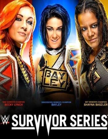 WWE Survivor Series 2019 PPV 480p WEBRip 800MB Full Show Download HD