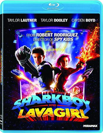 Adventures of Sharkboy and Lavagirl (2005) Dual Audio Hindi 480p BluRay 300MB