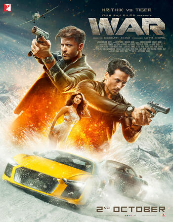 War (2019) Hindi 720p BluRay 1.3GB Full Movie Download