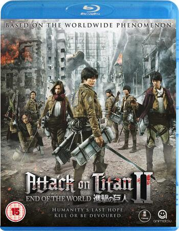 Attack On Titan 2 (2015) Dual Audio Hindi 720p BluRay x264 ESubs Movie Download