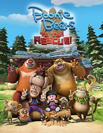 Boonie Bears To the Rescue 2019 720p WEB-DL Full English Movie Download