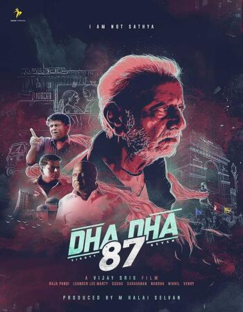 Dha Dha 87 (2019) Dual Audio Hindi 720p HDRip x264 1.1GB Movie Download