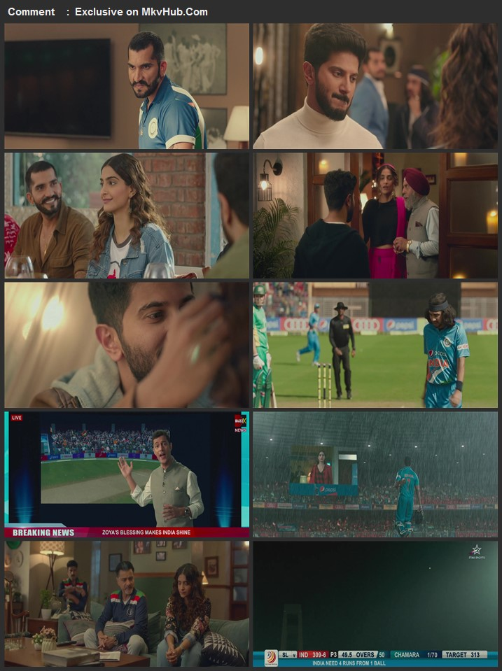 The Zoya Factor 2019 720p WEB-DL Full Hindi Movie Download