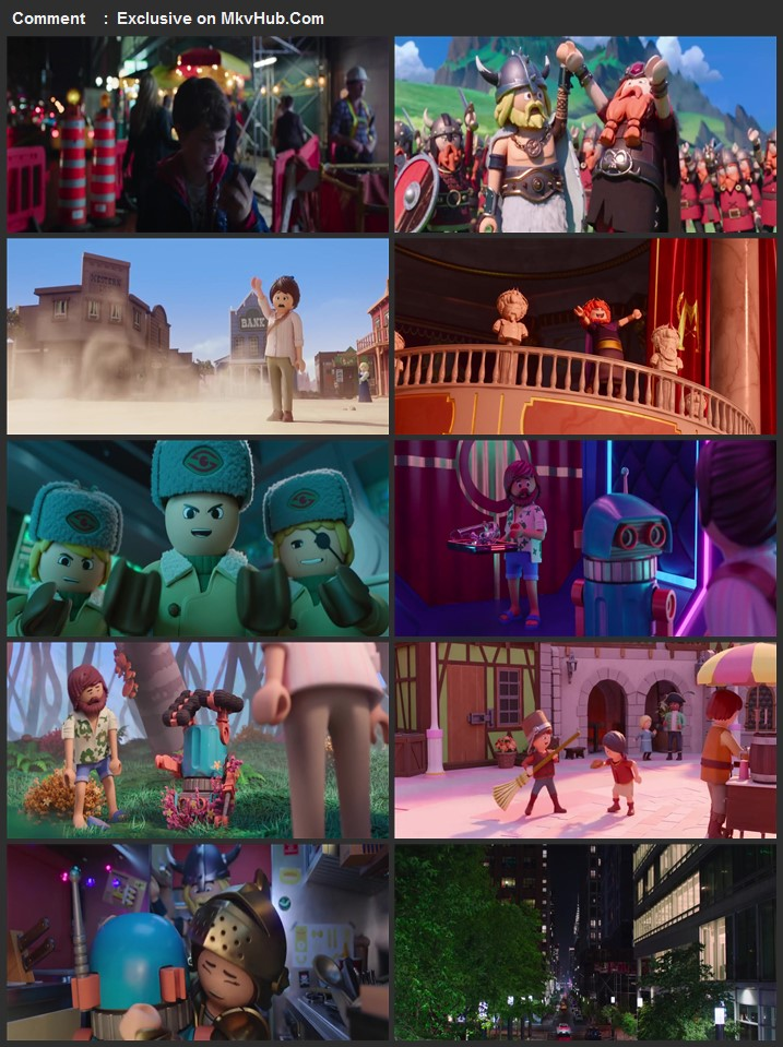 Playmobil The Movie 2019 720p BluRay Full English Movie Download