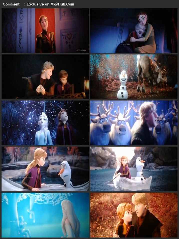 Frozen II 2019 720p HDTS Full English Movie Download
