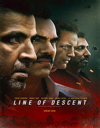 Line of Descent 2019 720p WEB-DL Full Hindi Movie Download