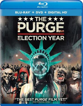 The Purge Election Year (2016) Dual Audio Hindi 350MB BluRay 480p