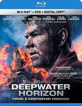 Deepwater Horizon (2016) Dual Audio Hindi 480p BluRay 300MB ESubs Movie Download
