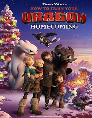 How to Train Your Dragon Homecoming 2019 720p WEB-DL Full English Movie Download