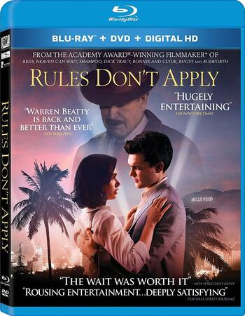 Rules Don't Apply (2016) Dual Audio Hindi ORG 480p BluRay 400MB ESubs