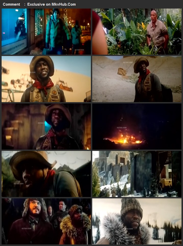 Jumanji The Next Level 2019 720p HDCAM Full English Movie Download