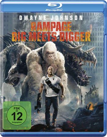 Rampage 2018 720p BluRay ORG Dual Audio In Hindi English