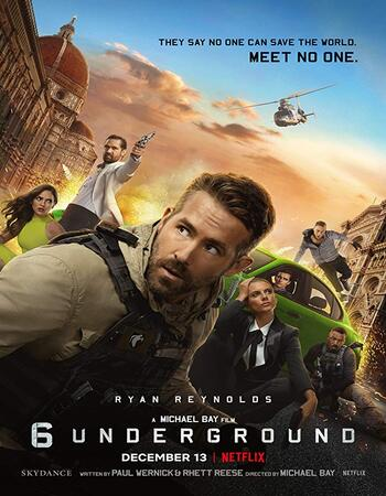 6 Underground 2019 1080p WEB-DL ORG Dual Audio in Hindi English