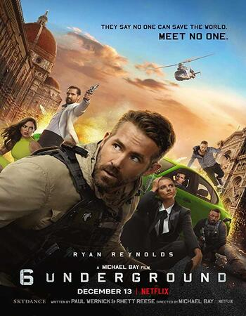 6 Underground (2019) Dual Audio Hindi ORG 480p WEB-DL 400MB ESubs Full Movie Download