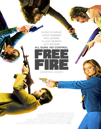 Free Fire (2016) Dual Audio Hindi 480p BluRay x264 300MB ESubs