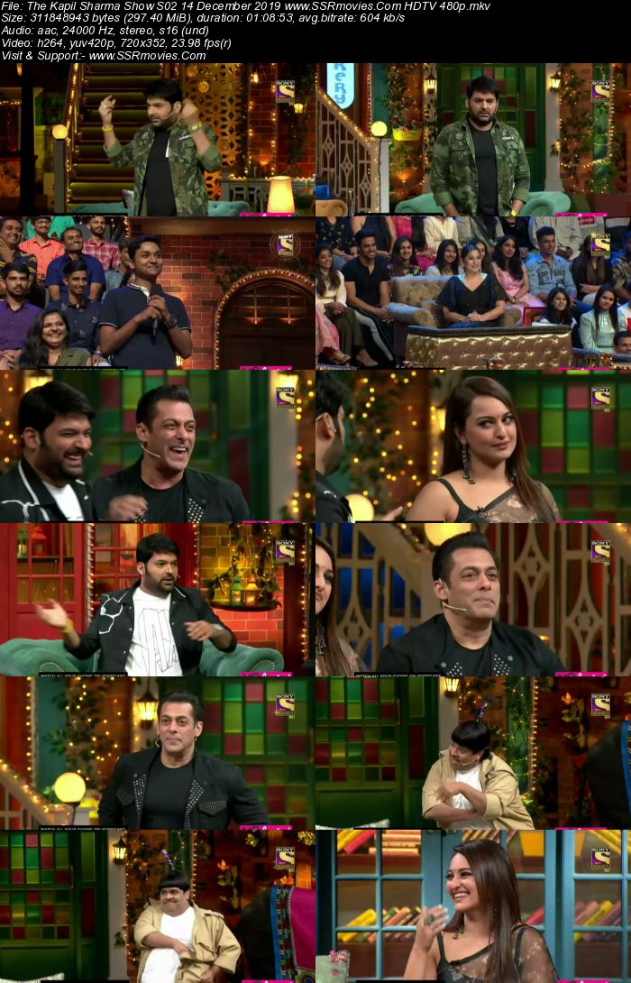 The Kapil Sharma Show S02 14 December 2019 Full Show Download HDTV HDRip 480p