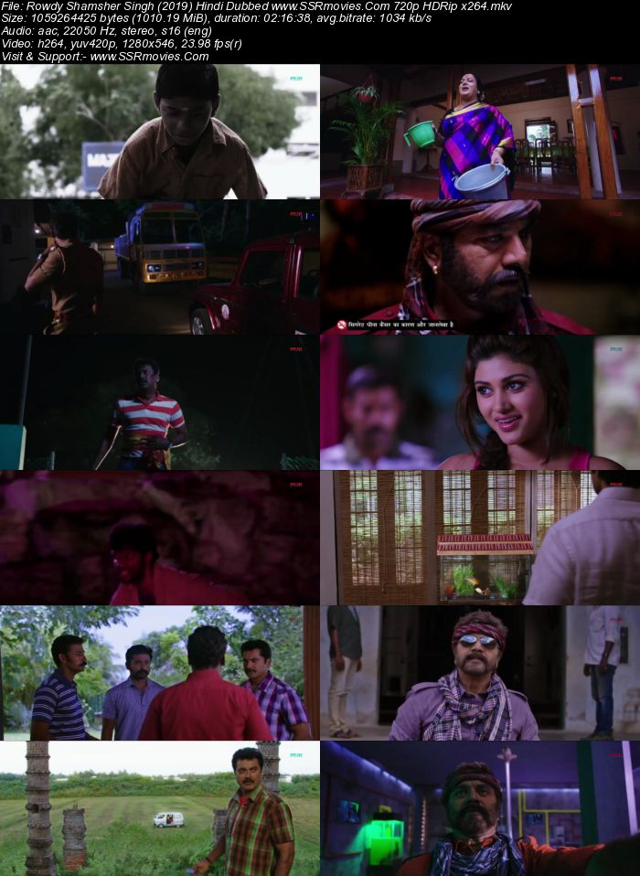 Rowdy Shamsher Singh (2019) Hindi Dubbed 720p HDRip x264 1GB Full Movie Download