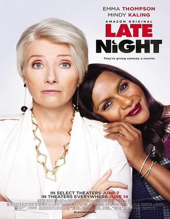 Late Night (2019) Dual Audio Hindi 720p WEB-DL x264 850MB ESubs