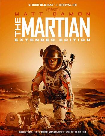 The Martian (2015) Dual Audio Hindi 480p BluRay x264 450MB ESubs