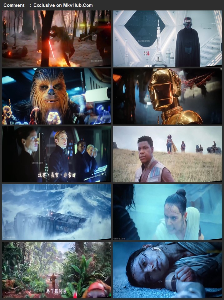 Star Wars The Rise of Skywalker 2019 720p HDTS Full English Movie Download
