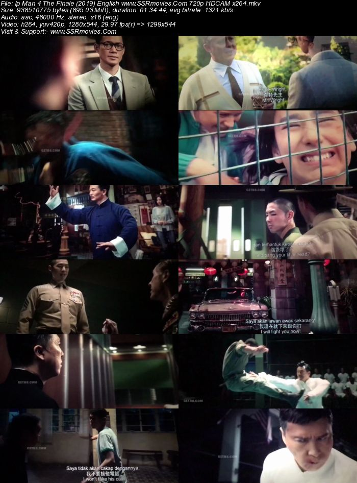 IP Man 4 The Finale (2019) English 480p HDCAM x264 300MB Full Movie Download