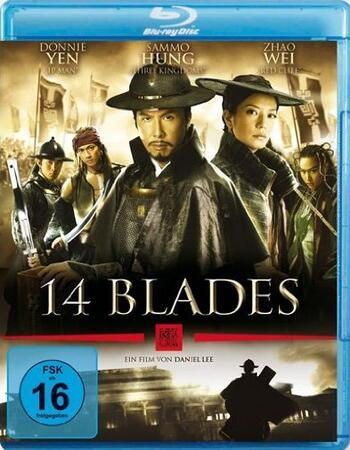 14 Blades (2010) Dual Audio Hindi 480p BluRay x264 350MB ESubs